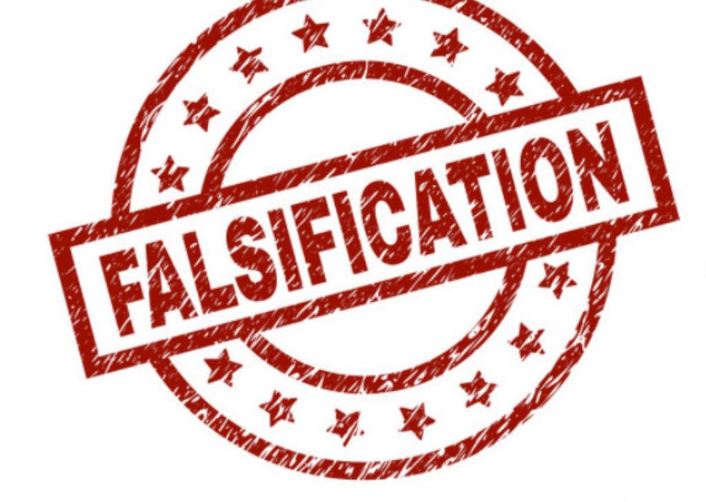 Falsificación de propiedad intelectual