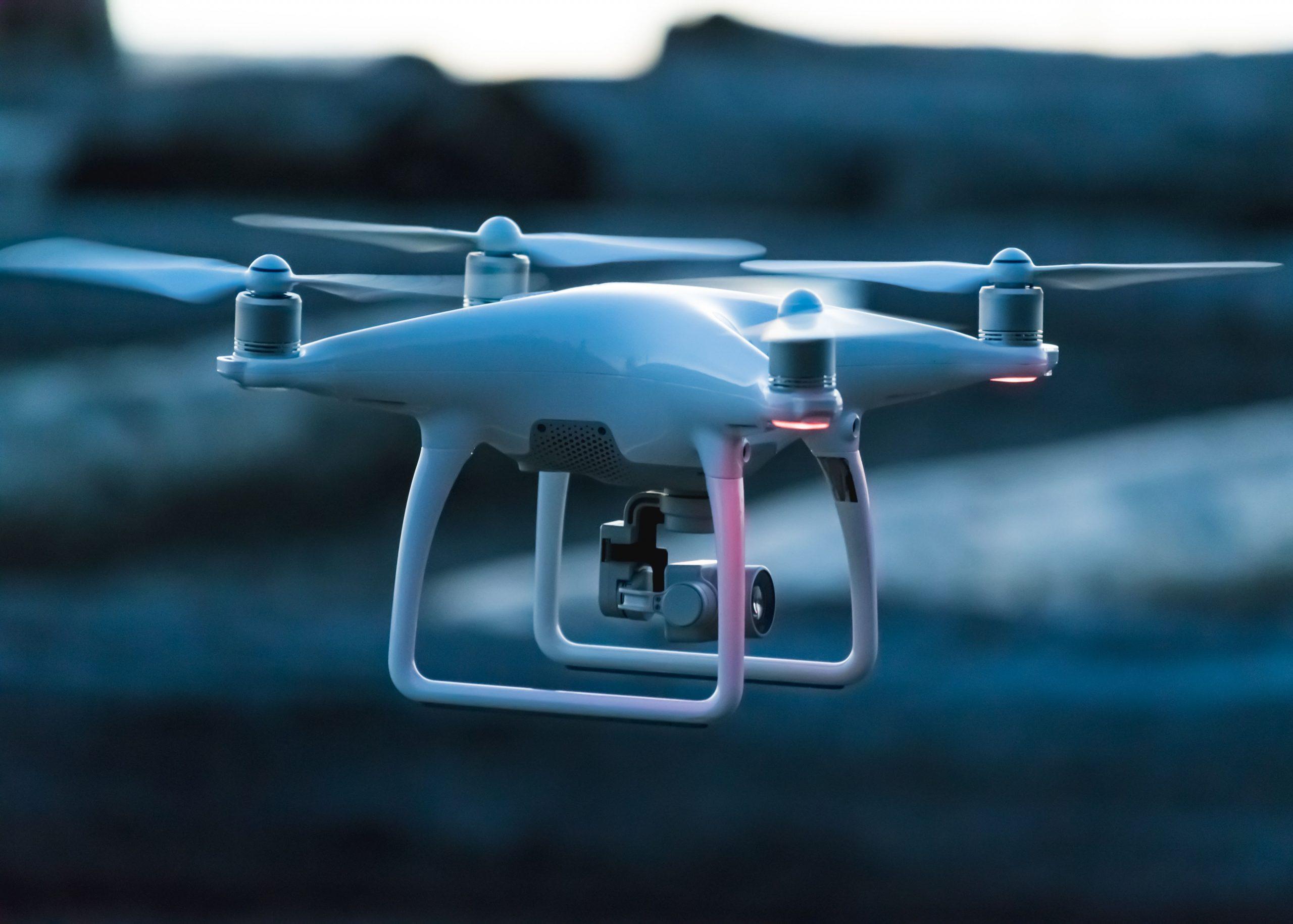 Drones regulación en España
